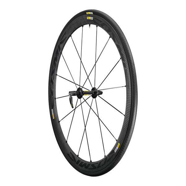 Mavic Cosmic Carbone 40 Elite Wheel/Tire Set (Clincher)