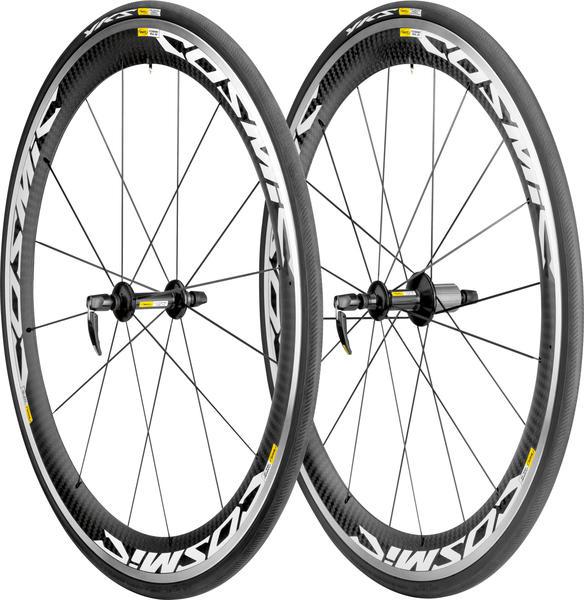 Mavic Cosmic Carbone SLS Wheel/Tire Set