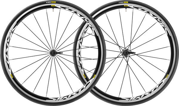 Mavic Cosmic Elite UST Disc 6-Bolt WTS Wheelset Color: Black