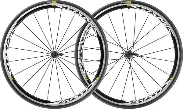 Mavic Cosmic Elite UST WTS Wheelset Color: Black