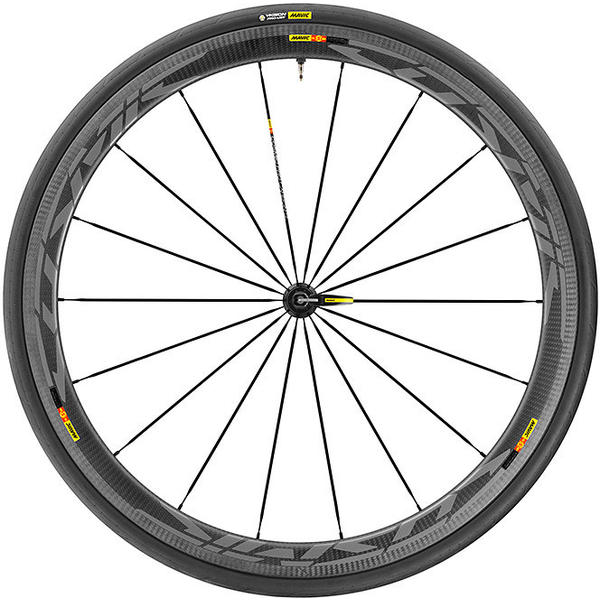 Mavic Cosmic Pro Cabon SL UST WTS Rear Color: Black