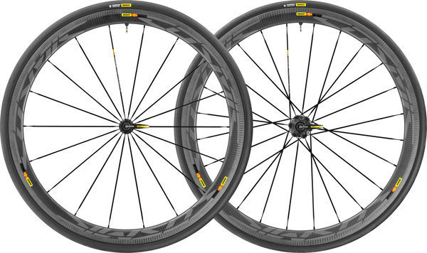 Mavic Cosmic Pro Cabon SL UST WTS Wheelset Color: Black