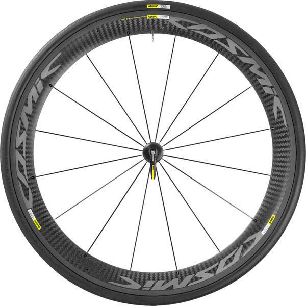 Mavic Cosmic Pro Carbon Exalith Wheelset: Front/Rear: Front