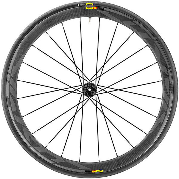 Mavic Cosmic Pro Carbon SL UST Disc Centerlock WTS Rear Color: Black