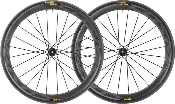Mavic Cosmic Pro Carbon SL UST Disc Centerlock WTS Wheelset Color: Black