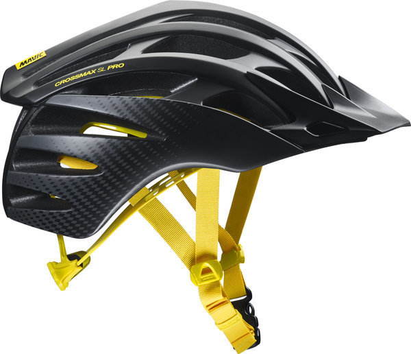 Mavic Crossmax SL Pro MIPS Helmet Color: Black/Yellow Mavic