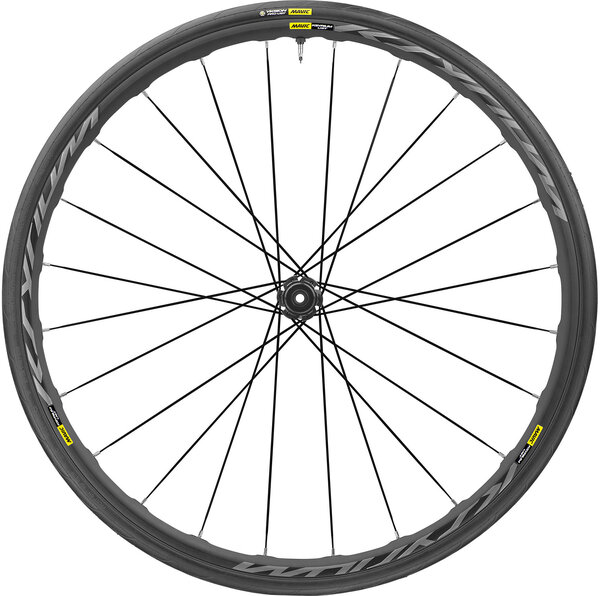 Mavic Ksyrium UST Disc Front Color: Black