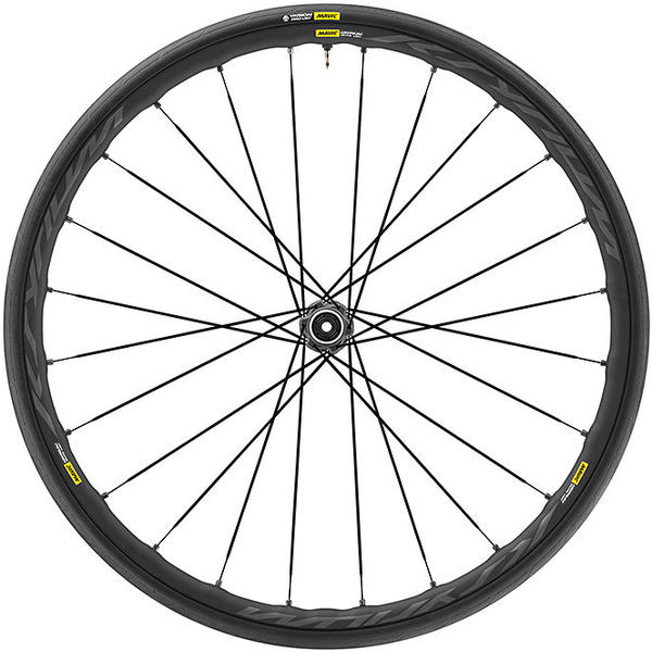 Mavic Ksyrium Elite UST Disc Centerlock WTS Front Color: Black