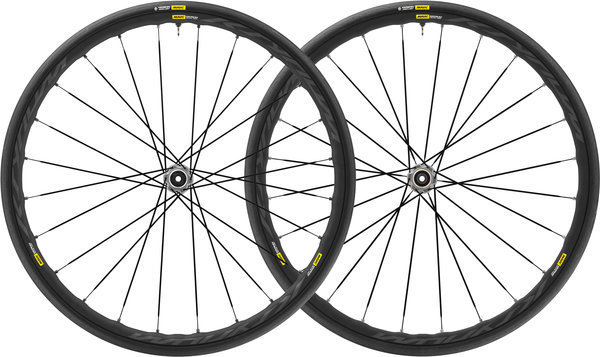 Mavic Ksyrium Elite UST Disc Centerlock WTS Wheelset Color: Black