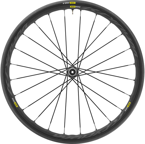 Mavic Ksyrium Elite UST Disc Front Color: Black