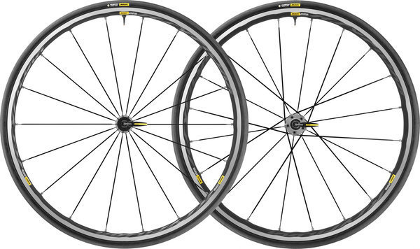 Mavic Ksyrium Elite UST Wheelset Color: Graphite/Black