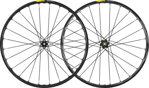 Mavic XA Elite 27+ Wheelset Color: Black