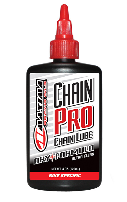 Maxima Chain Pro Dry Formula Lube Size: 4oz drip bottle