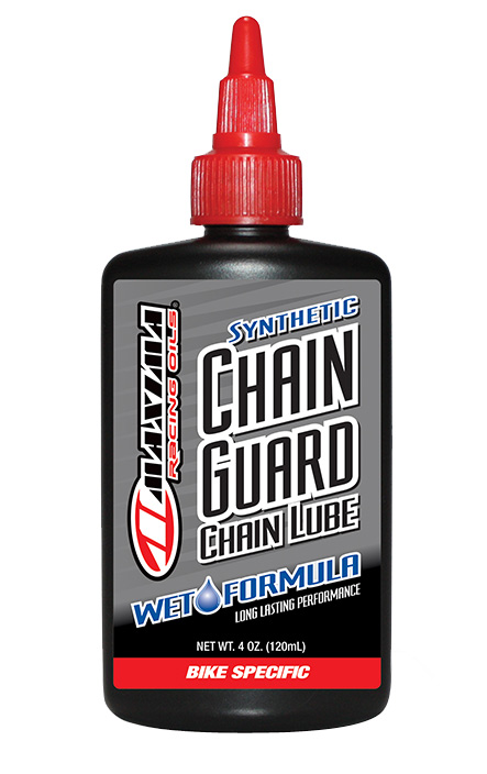 Maxima Synthetic Chain Guard Wet Formula Lube Size: 4oz drip bottle