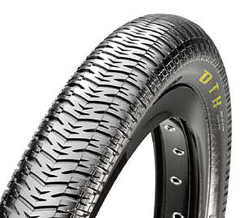 Maxxis DTH 20-inch Wire Bead Color: Black