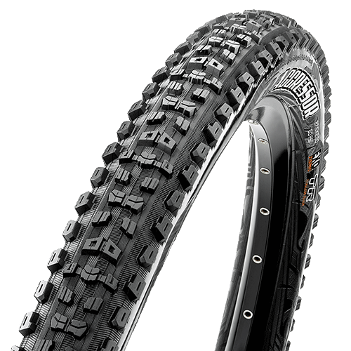 Maxxis Aggressor 27.5-inch Tubeless Compatible Color: Black