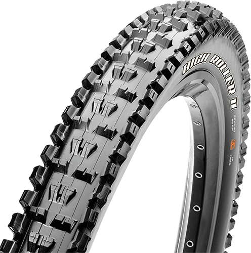 Maxxis High Roller II 27.5-inch Tubeless Compatible Color: Black