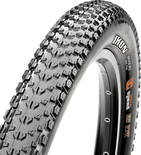 Maxxis Ikon 26-inch Tubeless Compatible Color: Black