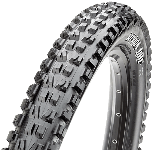 Maxxis Minion DHF 26-inch Tubeless Compatible Color: Black