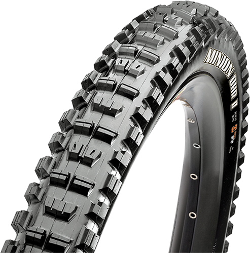 Maxxis Minion DHR II 27.5-inch Tubeless Compatible Color: Black