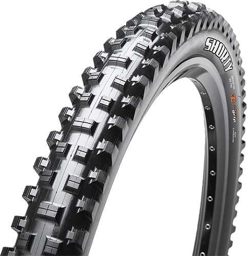 Maxxis Shorty Downhill 27.5-inch Tubeless Compatible Color: Black