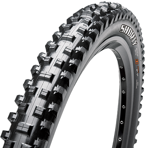 Maxxis Shorty 26-inch Tubeless Compatible Color: Black
