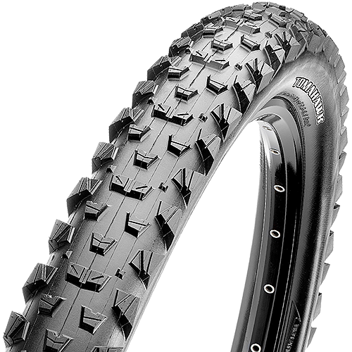 Maxxis Tomahawk 26-inch Tubeless Compatible Color: Black
