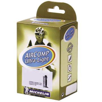 MICHELIN Aircomp Ultralight Presta Valve Tube