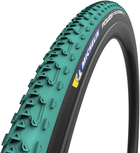 MICHELIN Power Cyclocross Jet Tubular Color: Green/Black