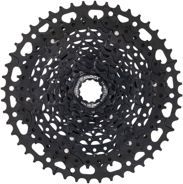 Microshift ADVENT X Cassette w/Alloy Spider