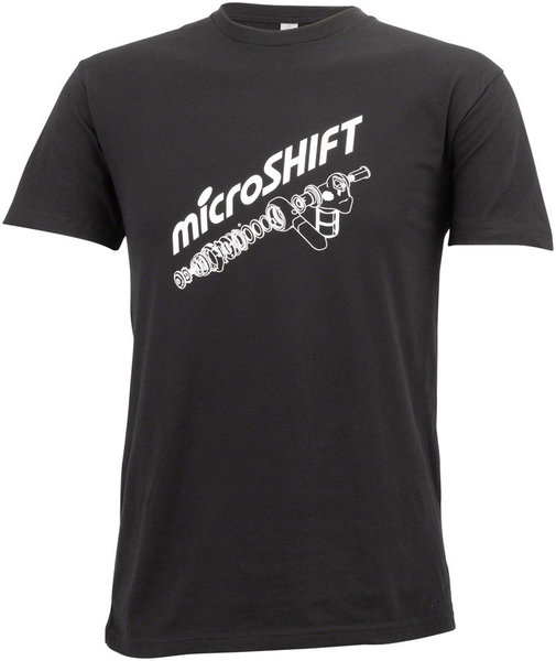 Microshift Diagram T-Shirt Color: Black