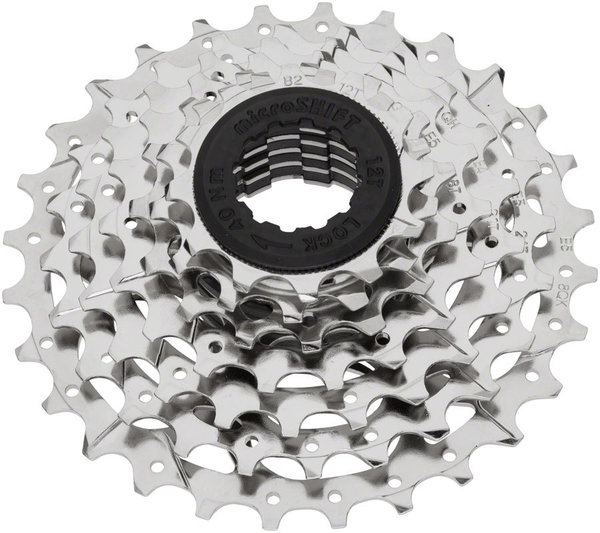 Microshift H07 7-Speed Cassette Color: Silver