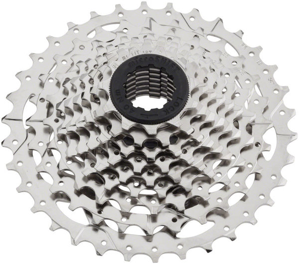 Microshift H09 9-Speed Cassette Color: Silver