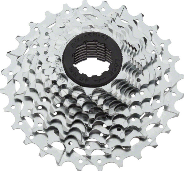Microshift H10 10-Speed Cassette Color: Silver