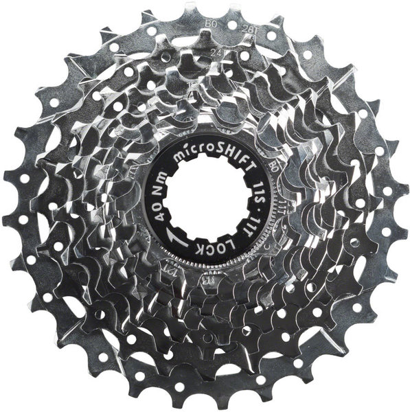 Microshift H110 11-Speed Cassette Color: Silver