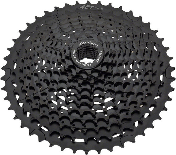 Microshift H113 11-Speed Cassette Color: Black