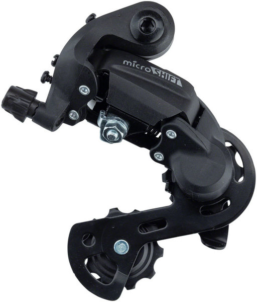 Microshift M21 Rear Derailleur Cage Length: Short Cage