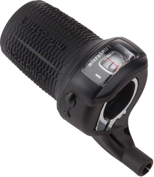 Microshift Twist Shifter for Shimano Nexus Internal Gear w/Gear Indicator Speeds: 3-speed