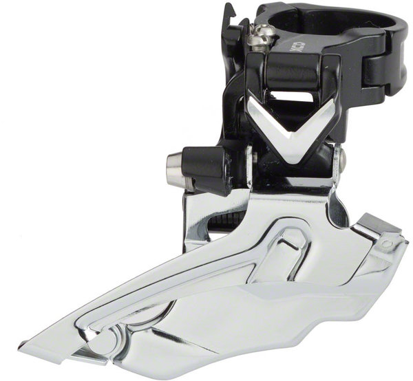 Microshift XCD Front Derailleur Chainrings: Double