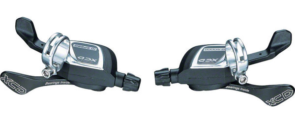 Microshift XCD 10-speed Trigger Shifter Set