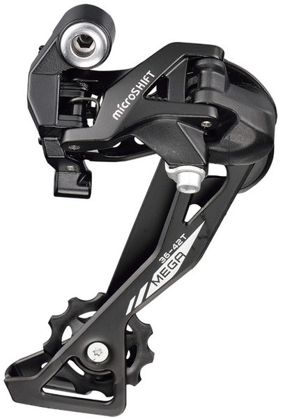 Microshift XLE Rear Derailleur Cage Length: Long Cage