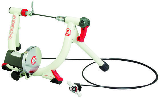 Minoura LR240-Mini M20-V Bicycle Trainer Color: White