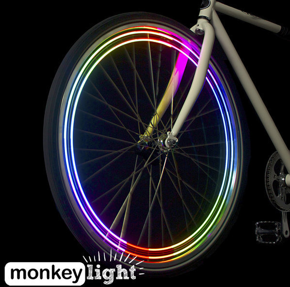 Monkeylectric M204 4-LED Bicycle wheel light