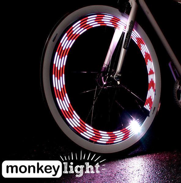 Monkeylectric M210 10-LED Bicycle wheel light