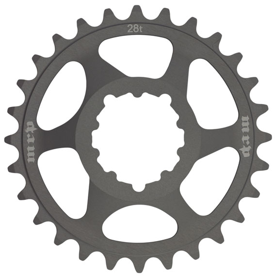 MRP Bling Ring Chainring Color | Size: Black | 28t