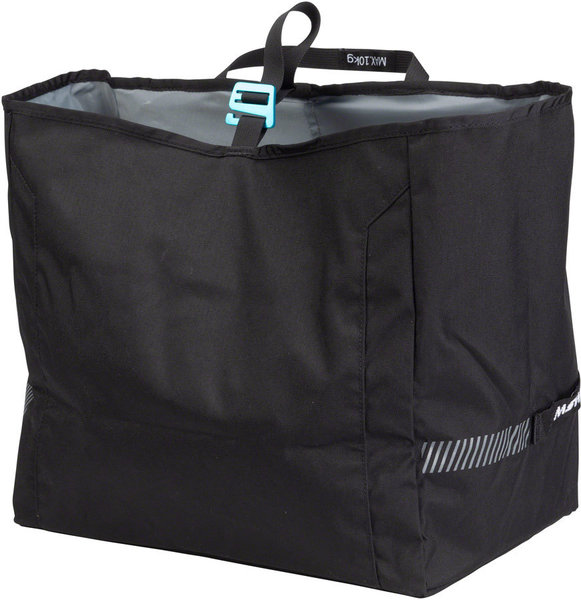 MSW Blacktop Grocery Pannier Bag Color: Black