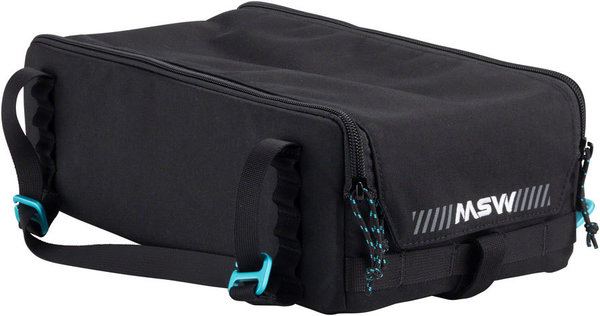 MSW Blacktop Trunk Bag Color: Black
