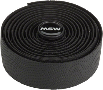 MSW HBT-210 Anti-Slip Gel Bar Tape Color: Black