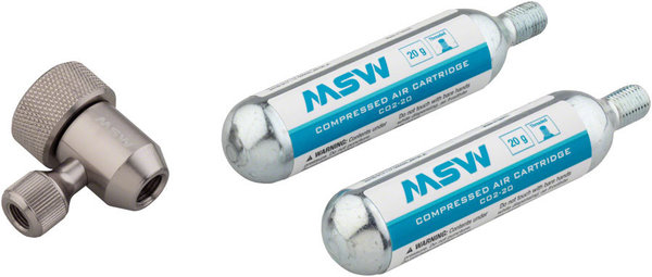 MSW Jetstream 20 CO2 Kit Color: Silver