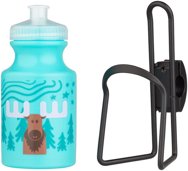 MSW Kids Handlebar-Mounted Water Bottle and Cage Kit